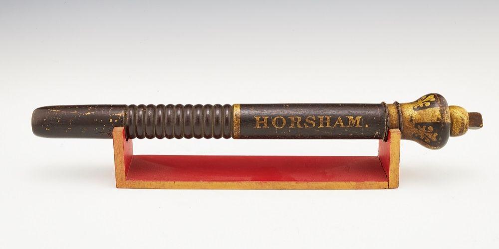 A Horsham baton