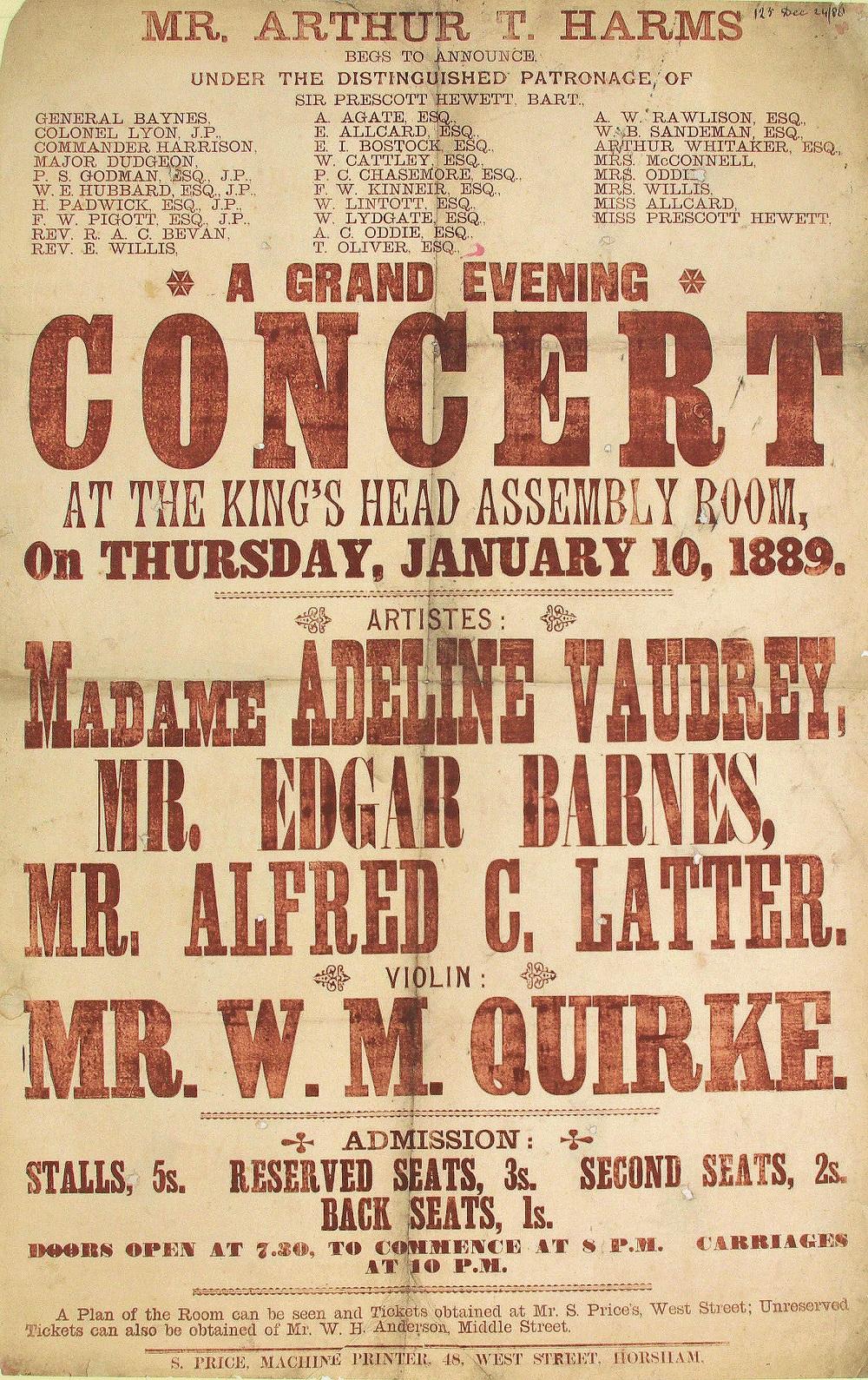A grand evening concert