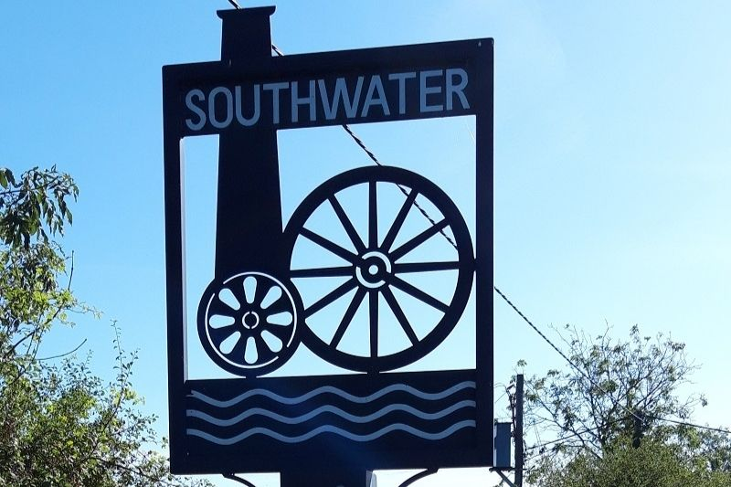Southwater village sign