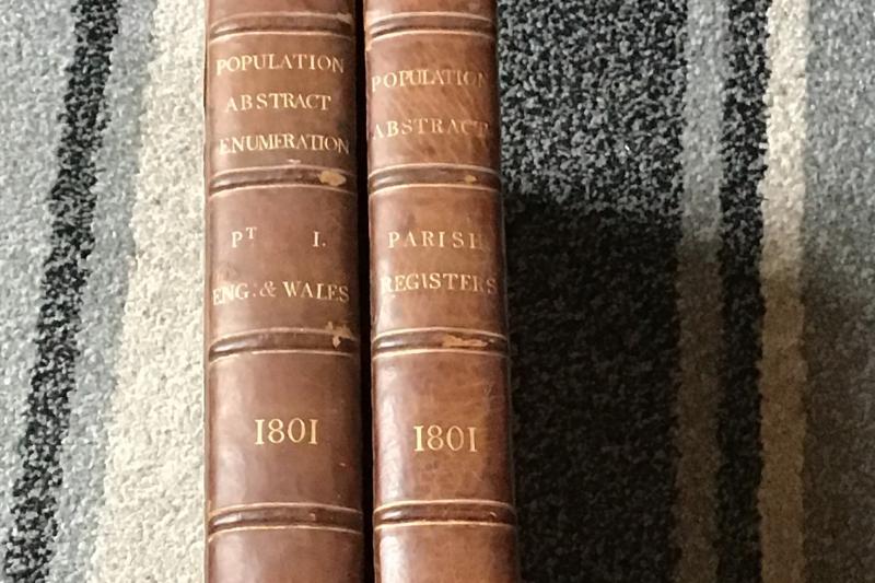 Bound 1801 census