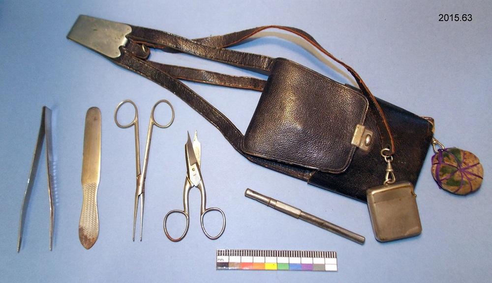 Nursing equipment shot from above