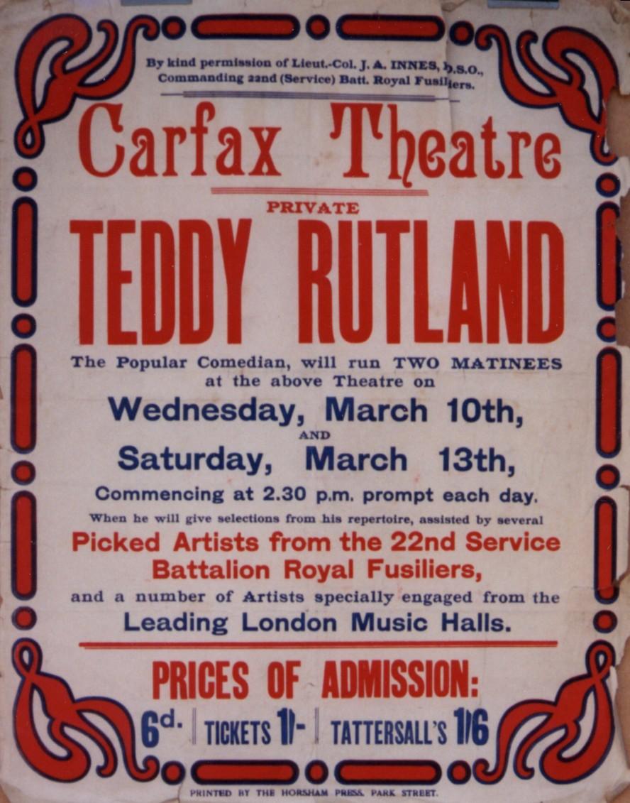 Teddy Rutland poster