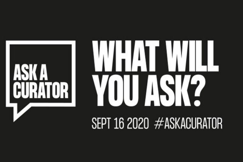 Ask a curator September 16 2020