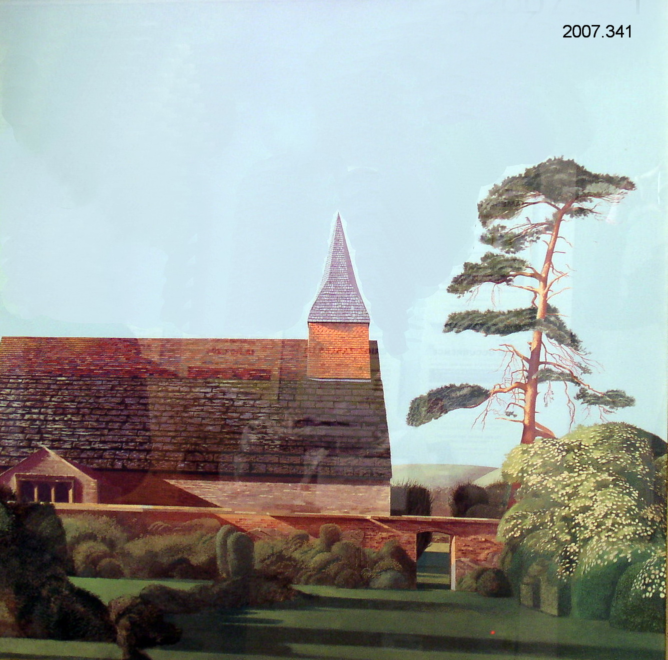 'The Church at Warminghurst' in Sussex
