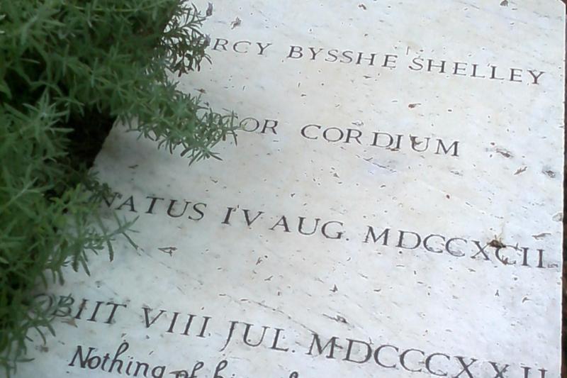 shelley grave stone