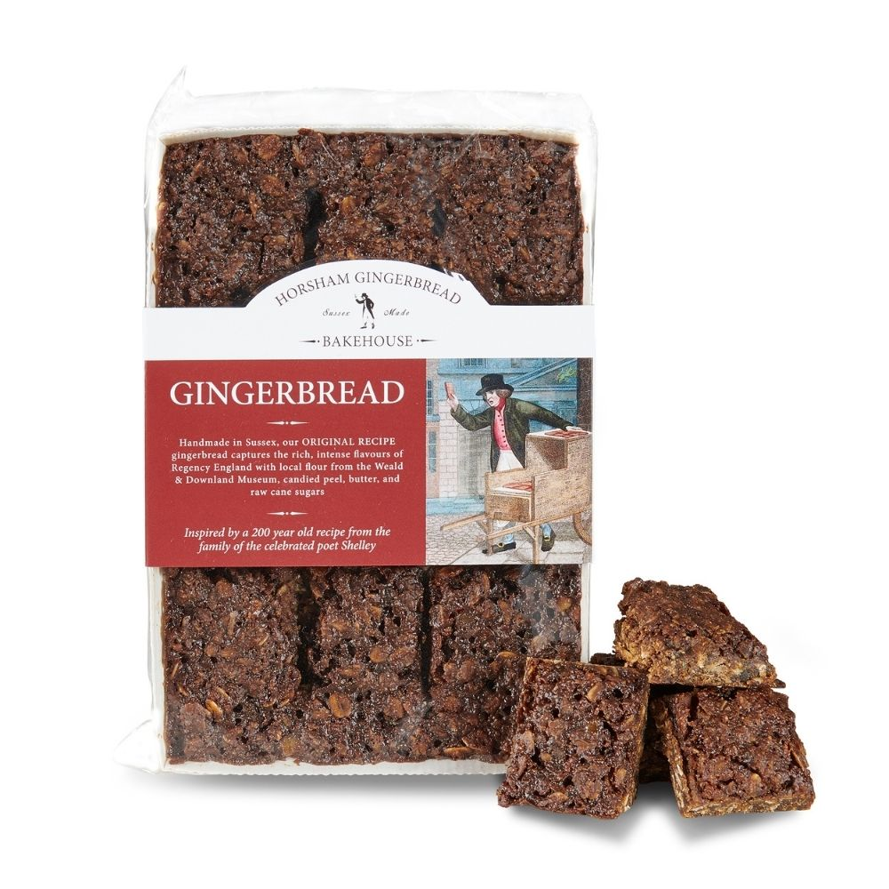 Photograph showing a tray of Horsham Gingerbread