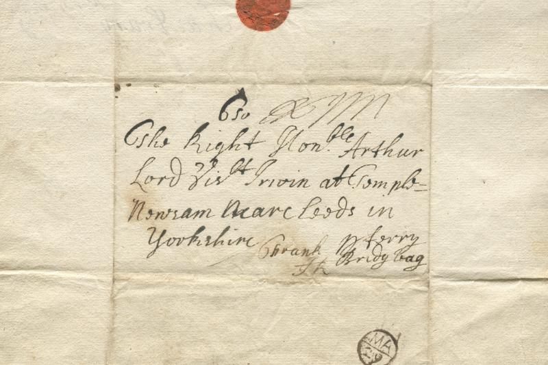 John Bishop postmark
