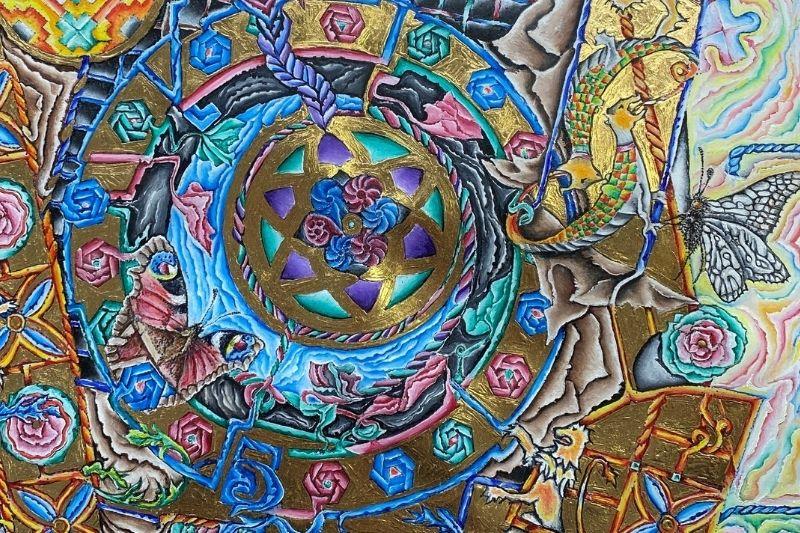 Guilded artwork
